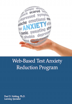 Web Based Text Anxiety Reduction Manual